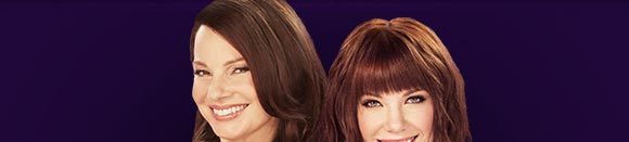 Carly Rae Jepsen and Fran Drescher